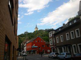 Siegburg, Blick auf Michaelsberg