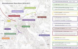 Baustellen Bonn