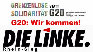 G20: Wir kommen!