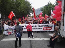 G 20 Demo in Hamburg