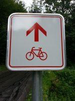 Schild-Radweg
