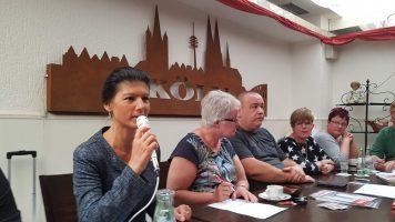 Sahra Wagenknecht, Inge Mohr-Simeonidis, Heiner Bäther, Stella Spillner, Stefanie Komlanvi